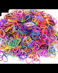 Élastiques pour chiens et chats, 50 unités couleurs mélangés