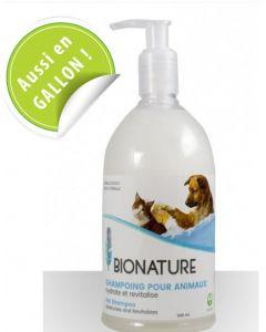 shampoing bio pour chiens et chats