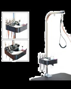 Support à outils de toilettage Shernbao pour poteau de tonte