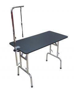 """Table avec pattes ajustables pour toilettage, 48"""" support et courroie inc"""