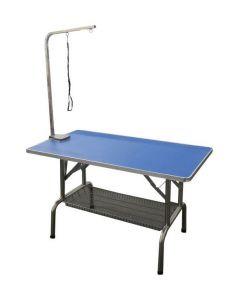 """Table transportable pour toilettage, 24"""" x 44"""" avec support et courroie"""