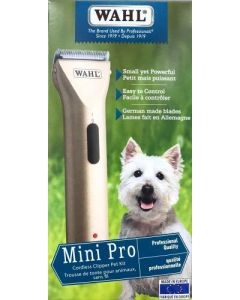 Tondeuse de finition mini pro pour animaux, Wahl avec ou sans fil